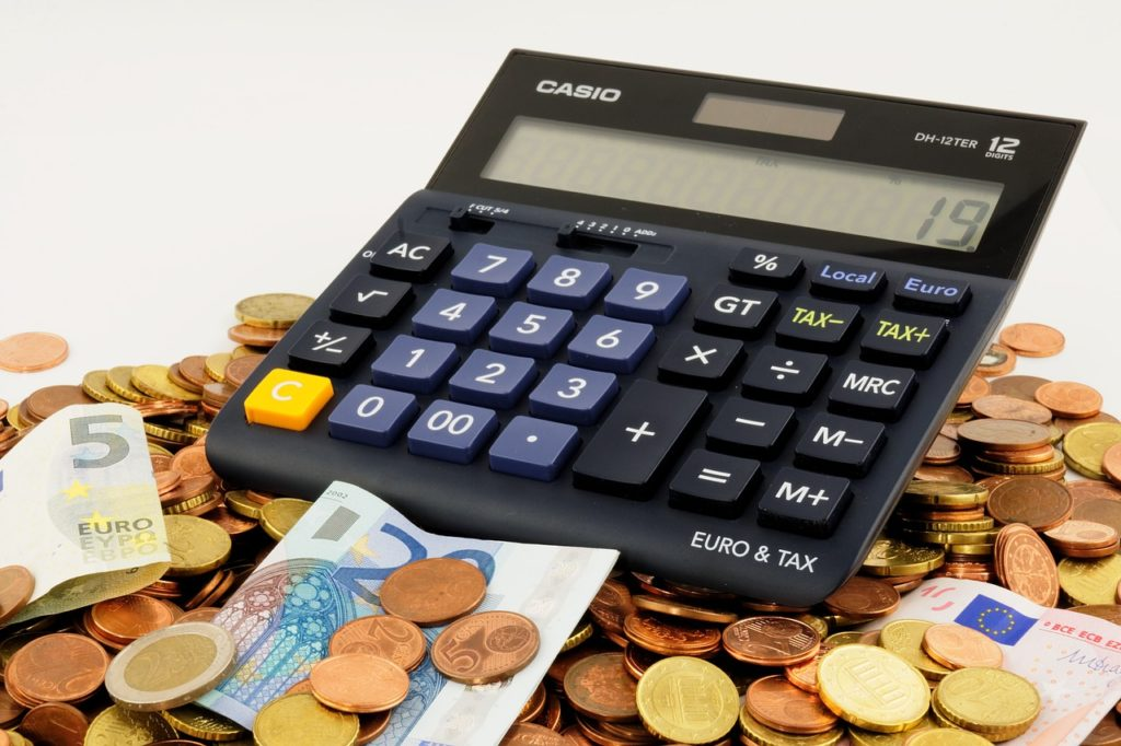 お金 計算機 予算 紙幣 硬貨